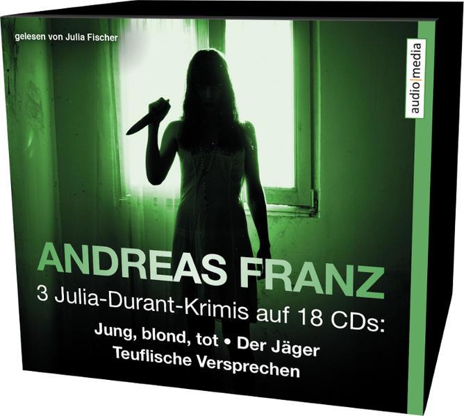3 Julia-Durant-Krimis auf 18 CDs - Coverbild