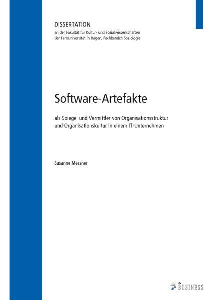 Software-Artefakte - Coverbild
