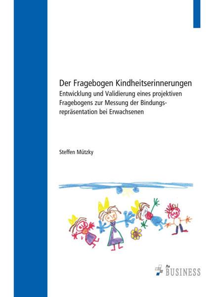 Der Fragebogen Kindheitserinnerungen - Coverbild