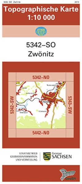 Zwönitz (5342-SO) - Coverbild