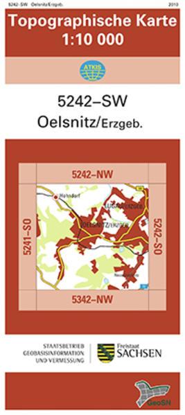 Oelsnitz/Erzgeb. (5242-SW) - Coverbild