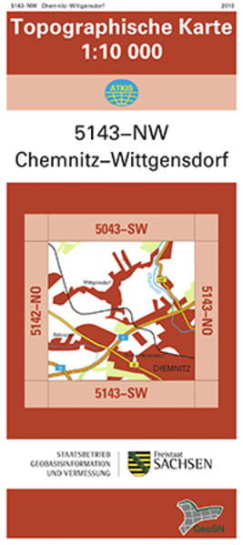 Chemnitz-Wittgensdorf (5143-NW) - Coverbild