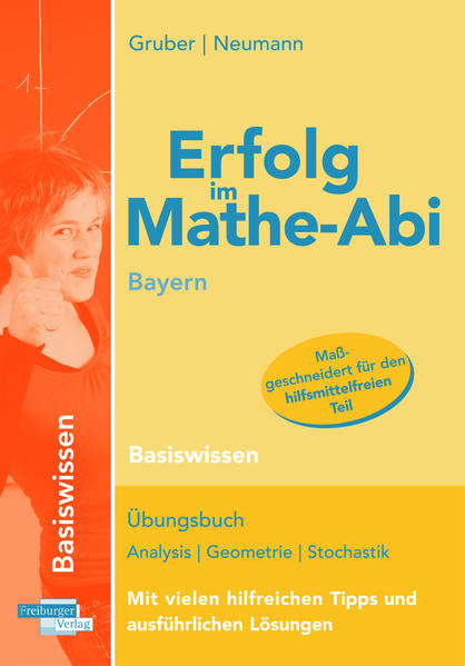 Erfolg im Mathe-Abi Bayern Basiswissen - Coverbild