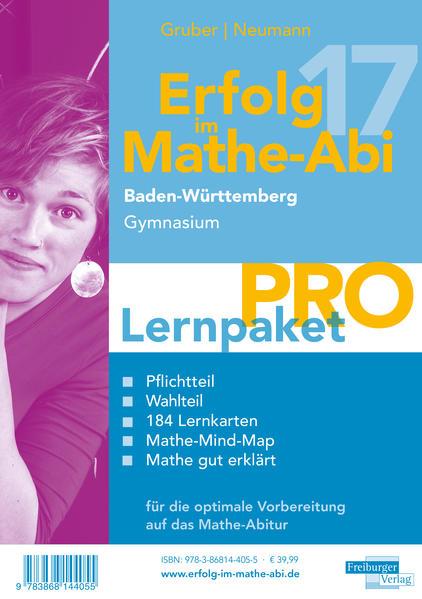 Erfolg im Mathe-Abi 2017 Lernpaket Pro Baden-Württemberg Gymnasium  - Coverbild