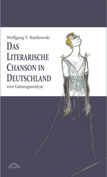 Das literarische Chanson in Deutschland - Coverbild