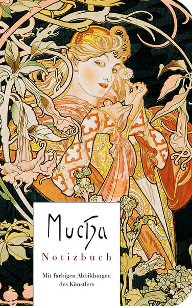 Alfons Mucha - Notizbuch - Coverbild
