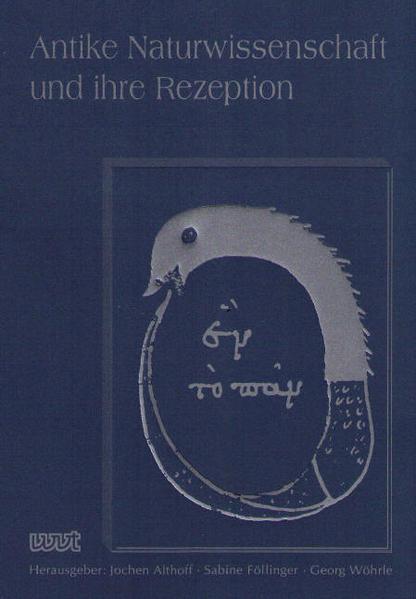 Antike Naturwissenschaft und ihre Rezeption / Antike Naturwissenschaft und ihre Rezeption - Coverbild