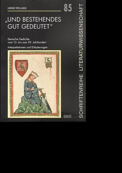 """""""und Bestehendes gut gedeutet"""" - Coverbild"""
