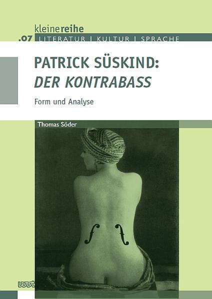 Patrick Süskind: 'Der Kontrabaß' - Coverbild