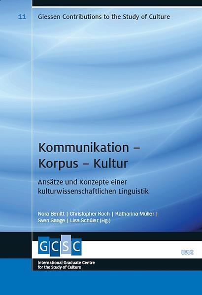 Kommunikation - Korpus - Kultur - Coverbild