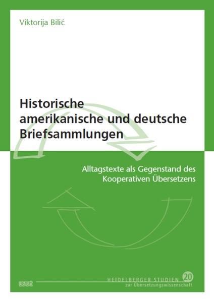 Historische amerikanische und deutsche Briefsammlungen - Coverbild