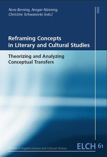 Reframing Concepts in Literary and Cultural Studies - Coverbild