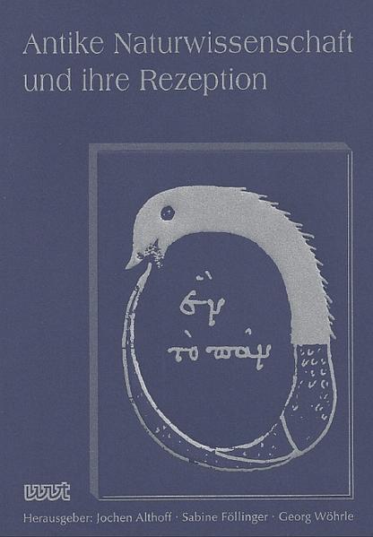Antike Naturwissenschaften und ihre Rezeption - Coverbild