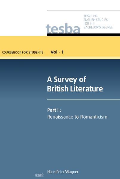 A Survey of British Literature (Vol. 1, Coursebook for Students) - Coverbild