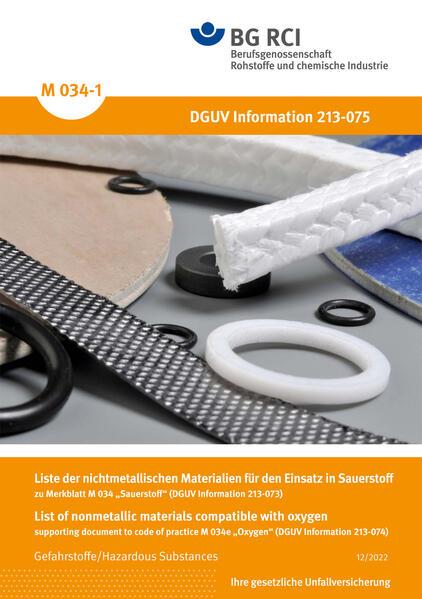 M 034-1 - Liste der nichtmetallischen Materialien - Coverbild