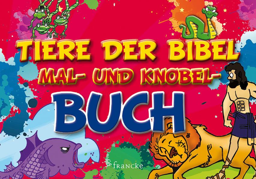 Tiere der Bibel-Mal- und Knobel-Buch - Coverbild