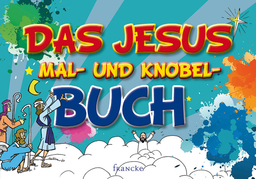 Das Jesus-Mal- und Knobel-Buch - Coverbild