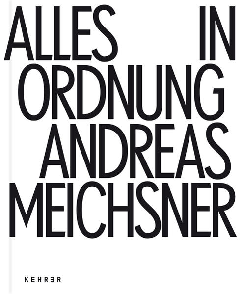 Andreas Meichsner - Alles in Ordnung - Coverbild