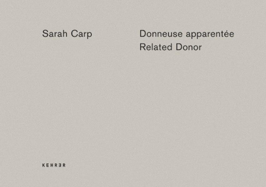 Sarah Carp - Coverbild