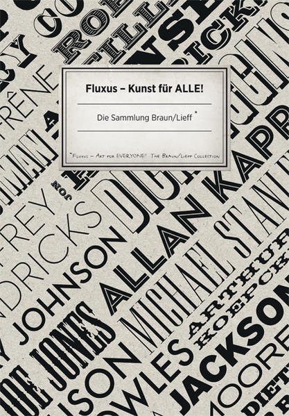 Fluxus Kunst für alle - Coverbild