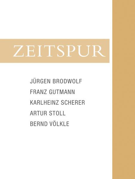 Zeitspur - Coverbild