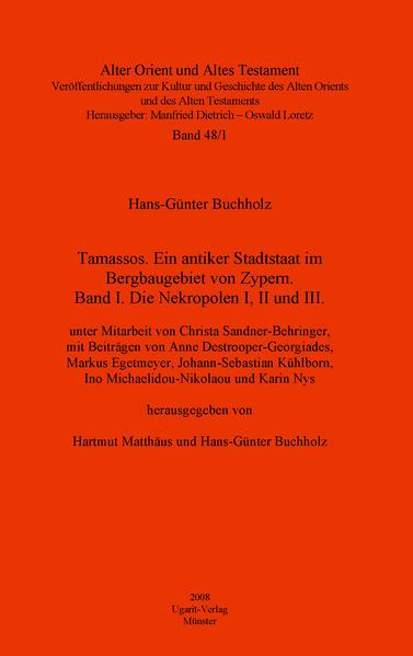 Tamassos / Die Nekropolen I, II und III - Coverbild