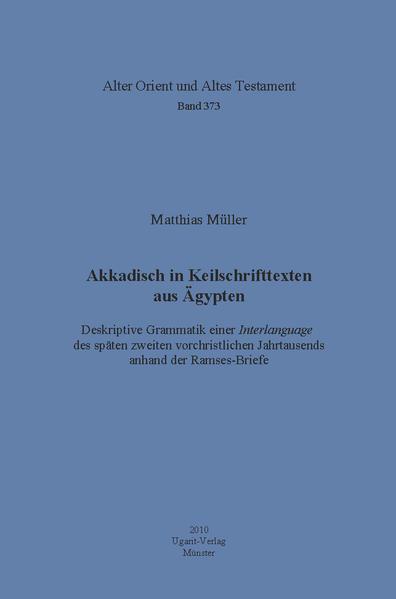 Akkadisch in Keilschrifttexten aus Ägypten - Coverbild