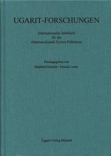 Ugarit-Forschungen. Jahrbuch / Ugarit-Forschungen - Coverbild