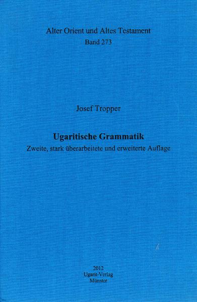 Ugaritische Grammatik - Coverbild