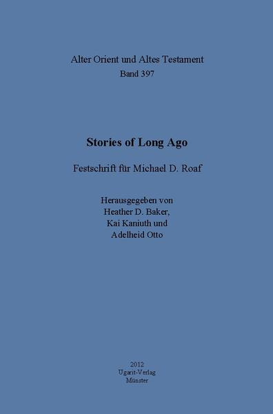 Stories of Long Ago - Coverbild