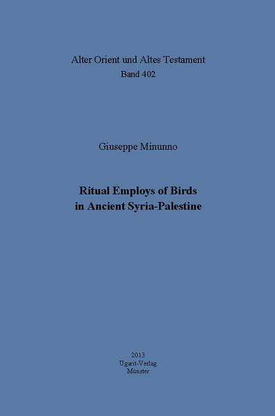 Ritual Employs of Birds in Ancient Syria-Palestine - Coverbild