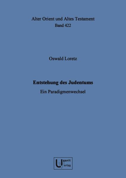 Entstehung des Judentums - Coverbild
