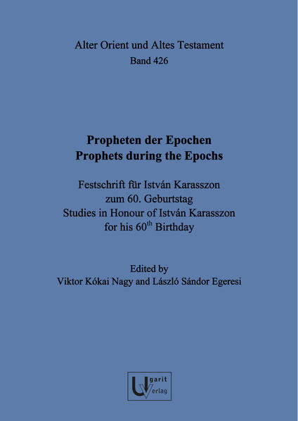 Propheten der Epochen / Prophets during the Epochs - Coverbild