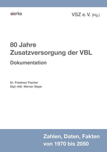 80 Jahre Zusatzversorgung der VBL - Coverbild
