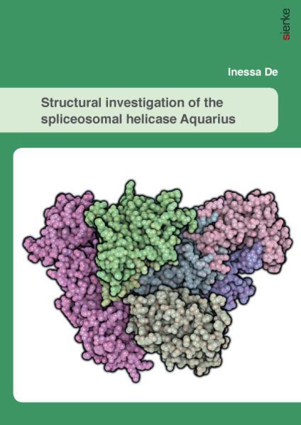 Structural investigation of the spliceosomal helicase Aquarius - Coverbild