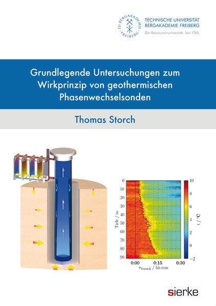 Grundlegende Untersuchungen zum Wirkprinzip von geothermischen Phasenwechselsonden - Coverbild
