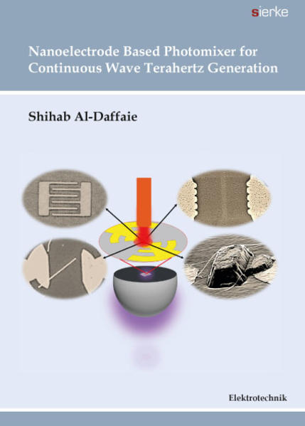 Nanoelectrode Based Photomixer for Continuous Wave Terahertz Generation - Coverbild