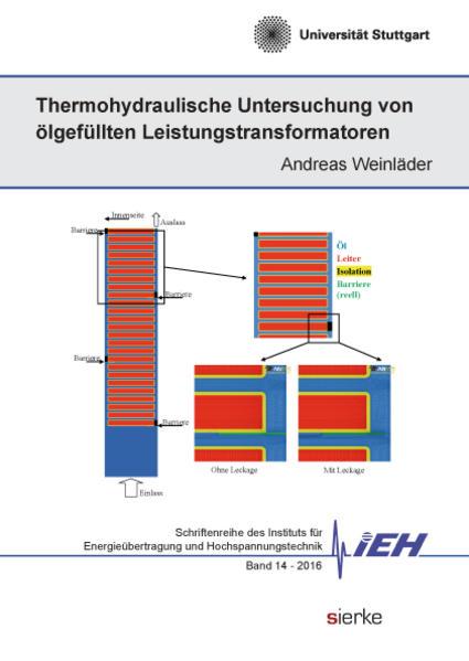 Thermohydraulische Untersuchung von ölgefüllten Leistungstransformatoren - Coverbild