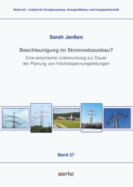 Beschleunigung im Stromnetzausbau? - Coverbild