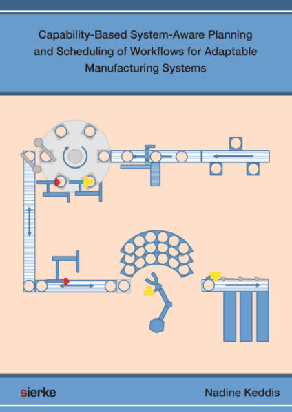 Capability-Based System-Aware Planning and Scheduling of Workflows  for Adaptable Manufacturing Systems - Coverbild