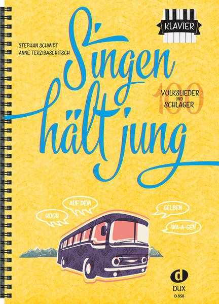 Singen hält jung - Klavier - Coverbild
