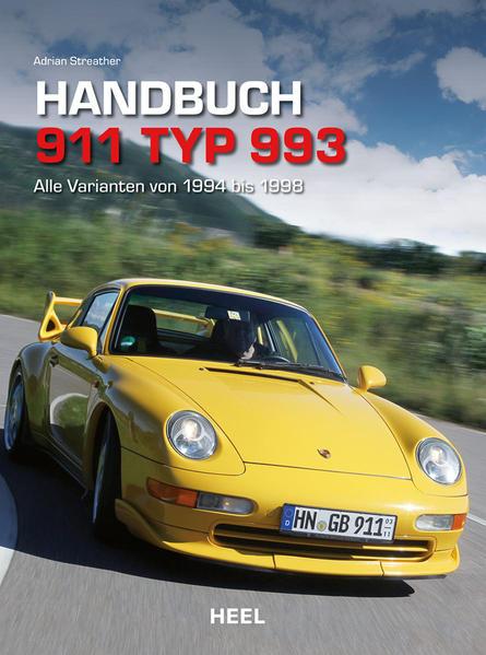Handbuch 911 Typ 993 - Coverbild
