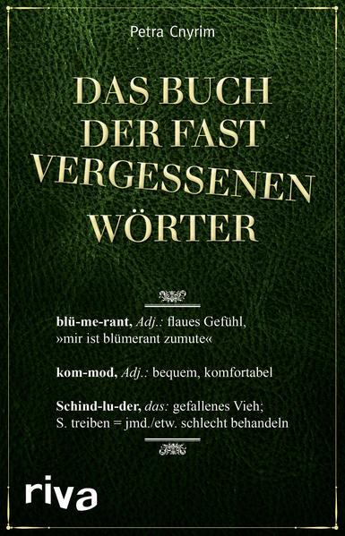 Das Buch der fast vergessenen Wörter - Coverbild