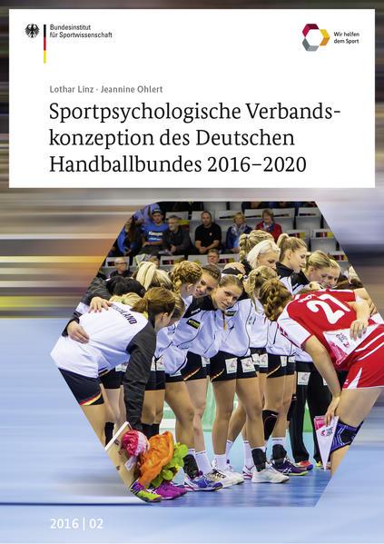 Sportpsychologische Verbandskonzeption des Deutschen Handballbundes 2016-2020 - Coverbild
