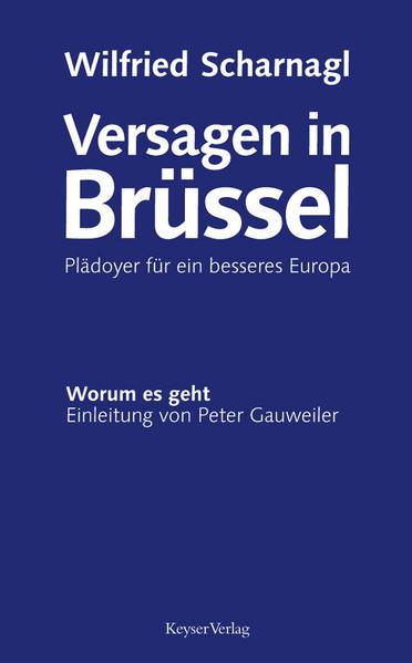 Versagen in Brüssel - Coverbild