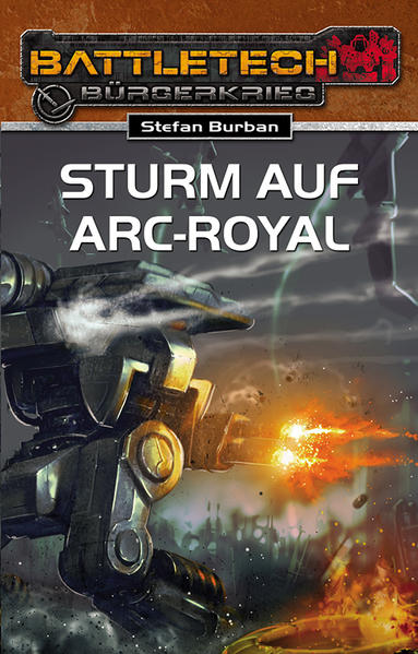 Sturm auf Arc-Royal - Coverbild