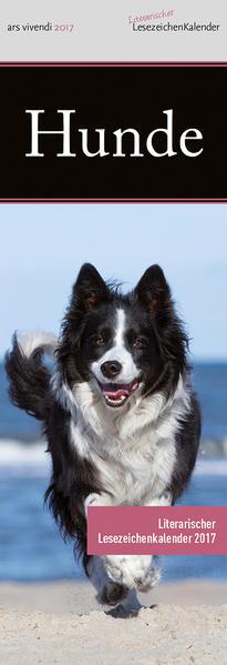 Lesezeichenkalender Hunde 2017 - Coverbild