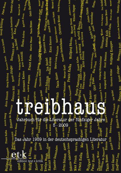 Das Jahr 1959 in der deutschsprachigen Literatur - Coverbild