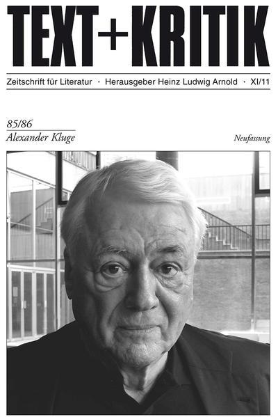 Alexander Kluge - Coverbild