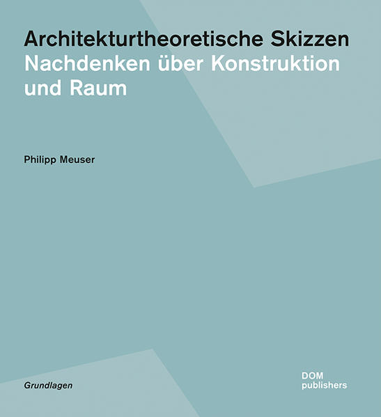 Architekturtheoretische Skizzen - Coverbild